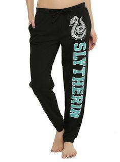 Harry Potter Slytherin Varsity Girls Pajama Pants,
