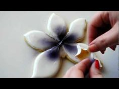 Video tutorial: Orchid #cookie