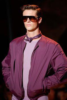 """money-in-veins: """" Edward Wilding at Versace S/S 2016 Menswear // Milan """""""