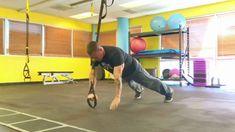 #TRXFreestyleFriday - Single Arm Hinge to Push-Up Functional Exercise #TRX