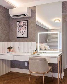 Home Design Decor, House Design, Home Decor, Glam Room, New Room, Dream Bedroom, House Rooms, Interiores Design, Decoration
