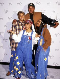 Group 'TLC' TBoz, the late Lisa Lefteye, and Chili. Also Dr. Dre Classic Hip HopArtists #music #celebrities
