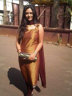 beautiful Indian girl in Salwar,