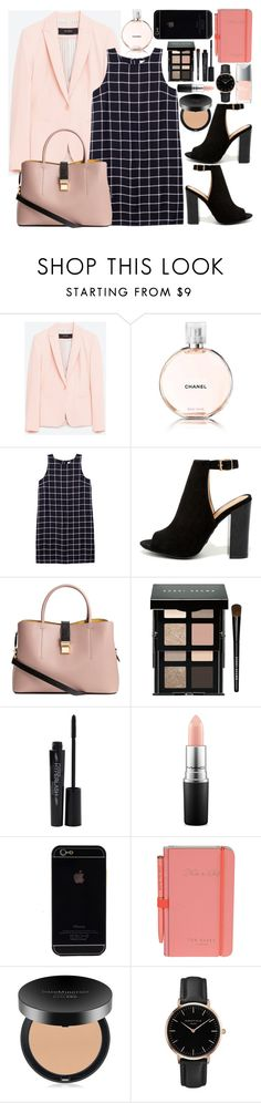 """""""Untitled #69"""" by jayemie ❤ liked on Polyvore featuring Chanel, Olive + Oak, Bamboo, Bobbi Brown Cosmetics, Smashbox, MAC Cosmetics, Wild & Wolf, Bare Escentuals, Topshop and Christian Dior"""
