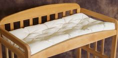 Skip the vinyl or plastic changing table pads! Just like the crib, the changing table is a place where your baby spends a significant amount of time. Toddler Girl Bedding Sets, Crib Sets, Baby Bedding, Baby Crib, Bed Sets, Baby Bedroom, Comforter, Baby Changing Tables, Baby Mattress