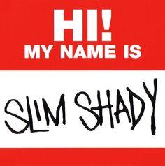 Eminem Logo, Eminem Tattoo, Eminem Lyrics, Eminem My Name Is, Pennywise Tattoo, Eminem Wallpapers, The Real Slim Shady, Eminem Slim Shady, How To Make Stickers