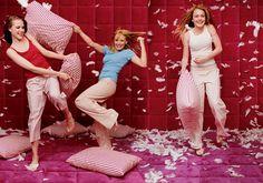 Vanity Fair July 2003, Evan Rachel Wood, Hilary Duff & Lindsay Lohan