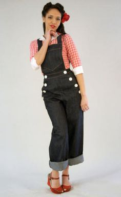 I love a cute pair of overalls.