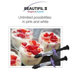 Beautifil II Gingiva & Enamel: Unlimited possibilities in pink and white #shofu #dental