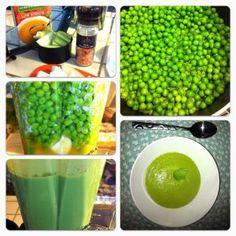 Raw Vegan Spit Pea Soup