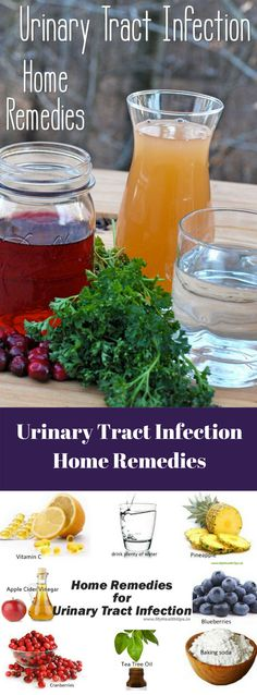 Urinary tract infections can be cured by and prevented with apple cider vinegar and other home remedies. Learn how to cure UTIs the easy and natural way. Remedies For Kidney Infection, Uti Remedies, Holistic Remedies, Natural Home Remedies, Herbal Remedies, Health Remedies, Urinary Tract Infection Symptoms, Cellulite Remedies, Disease Symptoms
