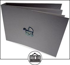 tarjetas de algodón blanco Intervalo de valores cochecito de bebé minúsculo Valor Album (bordado chaleco, azul)  ✿ Regalos para recién nacidos - Bebes ✿ ▬► Ver oferta: http://comprar.io/goto/B013I86TN2