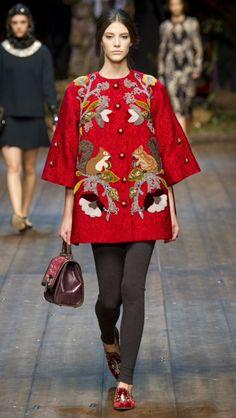 Dolce & Gabbana RTW Fall 2014