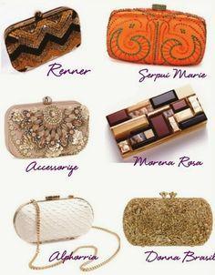 Madrinhas de casamento: Bolsas de festa: os modelos atuais Embellished Purses, Wedding Gifts, Glamour, Michael Kors, Handbags, Jewelry, Clutch Bags, Women, Closet