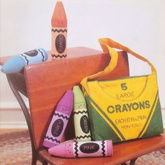vintage CRAYON FRIENDS sewing pattern (80s) on Etsy, $7.00