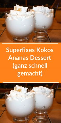 Köstliche Desserts, Delicious Desserts, Trifle, Cakes And More, Brunch, Food And Drink, Low Carb, Pudding, Sweets