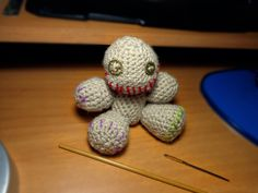 Latest voodoo doll addition to my ever-expanding army of dolls!