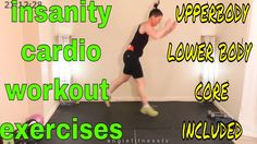 36 Min. Insanity Cardio Workout Exercises -Cardio & Strength Training-In...