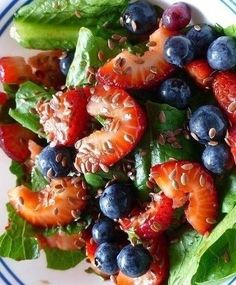 Recipe   7 GREEN Salads with Summer Berries