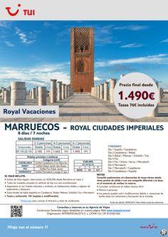 Marruecos: Royal Ciudades Imperiales. 8 días/7 noches. Octubre. Precio final desde 1.490€ ultimo minuto - http://zocotours.com/marruecos-royal-ciudades-imperiales-8-dias7-noches-octubre-precio-final-desde-1-490e-ultimo-minuto/