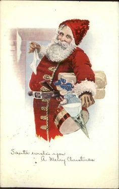 Cheerful Santa Claus