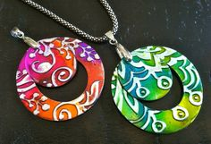 Pendants for a necklace