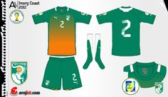 Ivory Coast | away jersey | 2012-2013