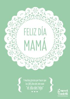 Free printable para felicitar a las mejores madres del mundo