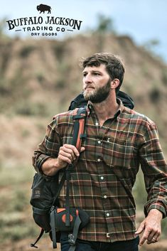 Men's long sleeve, plaid, button up, flannel shirt. No rules on how to wear it. We go for casual style so we outfit it with jeans and boots. But your shirt, your call. Great gifts for guys | dads | men who have everything. Lots of colors available — red, green, blue, you name it. Long Flannel Shirts, Mens Flannel Shirt, Casual Shirts, Shirt Men, Flannel Shirt Outfit, Shirt Dress, Lumberjack Men, Lumberjack Clothing, Lumberjack Outfit