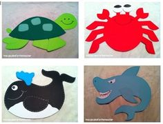 This unit is jam-packed with FUN! Learn about ocean animals with seven different crafts, 11 total activity sheets, and colorful vocabulary cards! ...