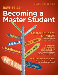 10 best new college career books images on pinterest books becoming a master student by david b ellis fandeluxe Images