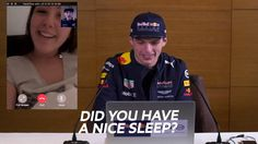 Fans FaceTime™ Max Verstappen from Red Bull Racing