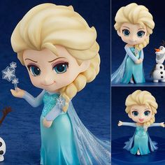 Nendoroid 475 Elsa from Frozen Disney Pixar Figure Good Smile Company Japan
