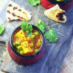 Aloo Matar - Indian Peas and Potato Curry