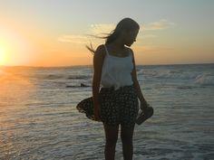look: feriado na praia
