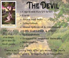 Major Arcana Cards, Tarot Major Arcana, Witchcraft Spells For Beginners, Tarot Card Meanings, Tarot Readers, Tarot Spreads, Spiritual Guidance, Card Reading, Negative Thoughts