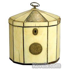 Antique Tea Caddy | Furniture, Clocks & Lighting Price Guide ...