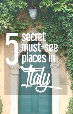 There's more to Italy than Rome and Venice! Follow Addie from Old World New as she shares her favorite hidden--but still amazing--places in Italy. Italy Travel Dans notre blog beaucoup plus d'informations http://storelatina.com/italy/travelling #vacation #Italyrecipes #viaje #recipesItaly