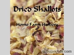 Dried Shallots, Order now, FREE shipping a FREE gift in Colorado CO - Free Colorado SuperAds