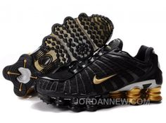 Find Men\u0027s Nike Shox TL Shoes Black/Gold/Silver Super Deals online or in  Footlocker. Shop Top Brands and the latest styles Men\u0027s Nike Shox TL Shoes  ...