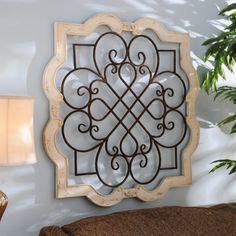 Wood Isabelline Plaque | Kirklands