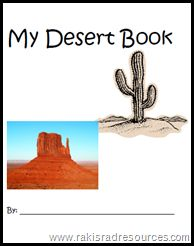 Desert Day in the elementary classroom