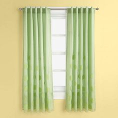 Kids' Curtains: Kids Green Bubble Curtain Panels in Curtains & Hardwares | The Land of Nod