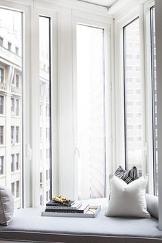 Some form of a reading nook/window seat is a must for me.
