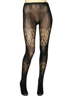 Manikin's kind of creepin me out... but awesome tights!