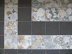 Dekor-Bodenfliesen-20x20cm-Flower-Mosaik-Muster-Fliesen-fuer-Wand-Boden-Castelo