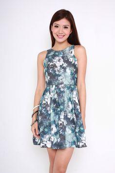 Roses are Blue dress SGD $29 @ tianfenlan