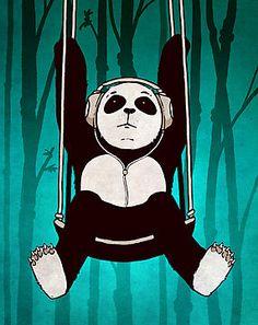Panda Swing by headless