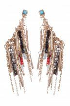 Chain and Bead Tassel Earrings from Colette Hayman R99,90