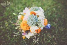 dallas wedding planner, bridal bouquet, blue and white stripes— Dallas-Fort Worth Wedding Planning Studio